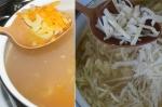 добавление овощей и капусты в суп