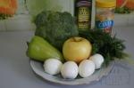 все для салата с яблоком и брокколи