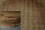 Бисквитные хрустящие вафли