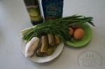 для салатика с фасолью