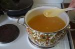 добавление галушек в суп