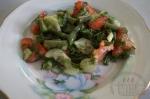 готовый салат со стручковой фасолью