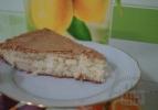 готовый лимонный пирог