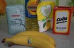 все для блинов с бананами на рисовой муке