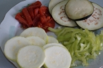 овощи порезанные для запеканки