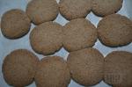 свежеиспеченные печенья из рисовой муки