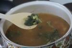 добавление брокколи в суп