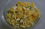 овощи с растительным маслом и луком
