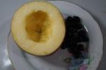 яблоко без середины и без верха