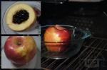 запекание яблока с овсянкой