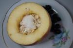 добавление сахара в яблоко