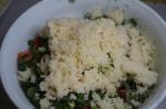 добавление кускуса в салат