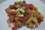готовый салат с кртофелем