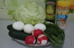 все для салата с капустой и яйцом
