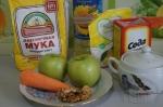 все для морковно-яблочного кекса