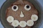 готовые рисовые блины с бананами