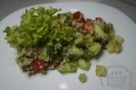 готовый салат с кускусом